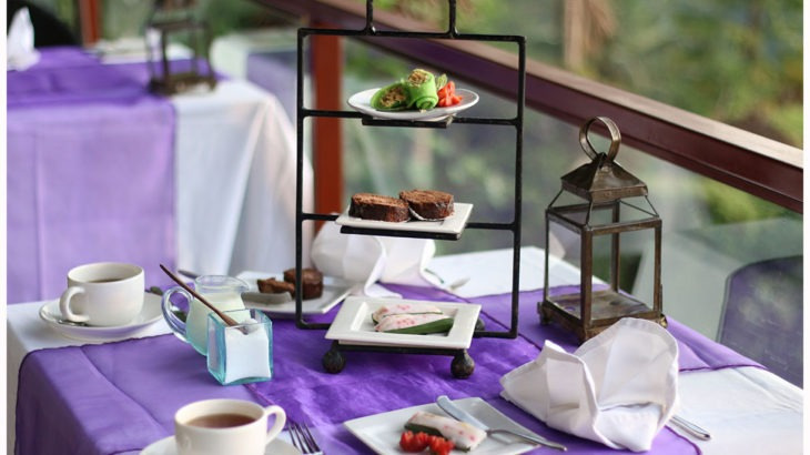 afternoon tea, kupu barong ubud bali